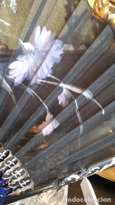 Antigüedades: Abanico de luto - Foto 4 - 271847663
