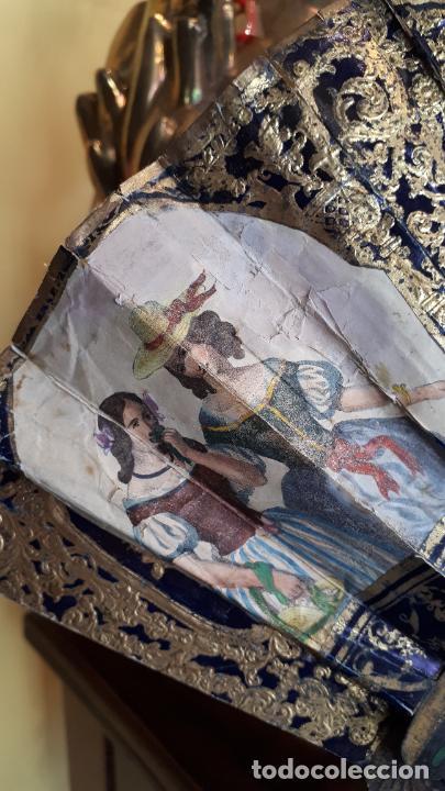 Antigüedades: Abanico isabelino - Foto 3 - 271847853