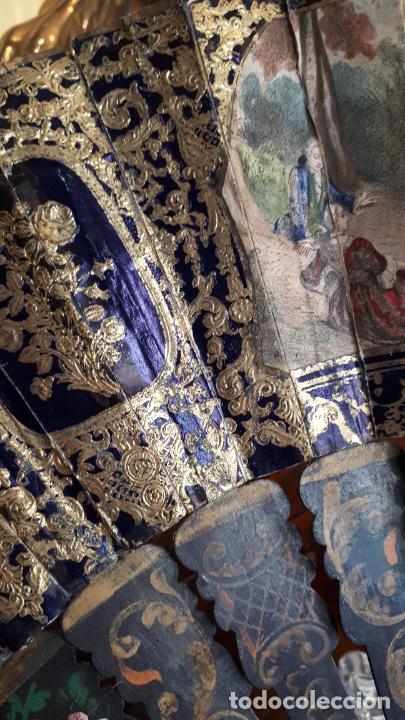 Antigüedades: Abanico isabelino - Foto 4 - 271847853