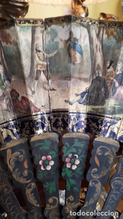 Antigüedades: Abanico isabelino - Foto 5 - 271847853