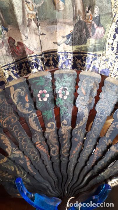 Antigüedades: Abanico isabelino - Foto 6 - 271847853