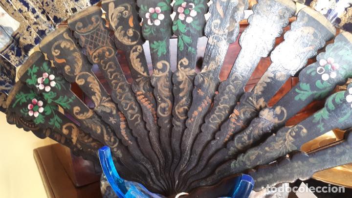 Antigüedades: Abanico isabelino - Foto 7 - 271847853