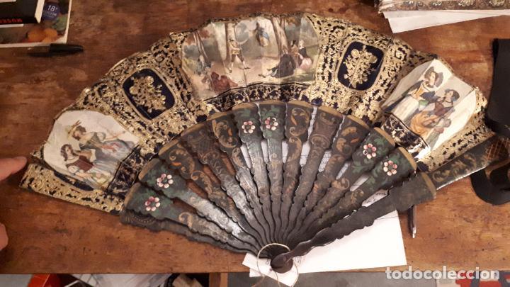 Antigüedades: Abanico isabelino - Foto 21 - 271847853