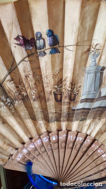 Antigüedades: Abanico siglo XIX. - Foto 6 - 271848083