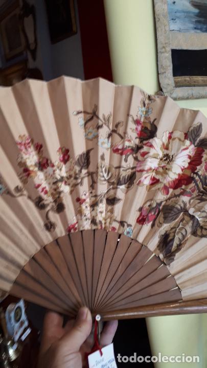 Antigüedades: Abanico pericón del siglo XIX. - Foto 8 - 271848458