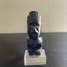 Antigüedades: FIGURA OBSIDIANA MEXICO. Lote 271907873