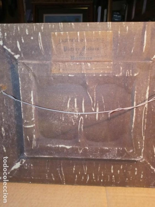 Antigüedades: CUADRO / MARCO - KITTIES . - Foto 5 - 271918698