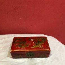 Antigüedades: ANTIGUOS BAÚLES CHINOS DE MADERA CHINAS. Lote 271944018