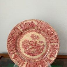 Antigüedades: PLATO DE CERÁMICA GALLEGA DE SARGADELOS. Lote 271963898