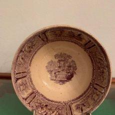 Antigüedades: CUENCO MALVA DE SARGADELOS. Lote 272007148