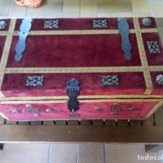 Antigüedades: ARCA TIPO BAUL MUY BONITO VER FOTOS OPORTUNIDAD. Lote 272081483