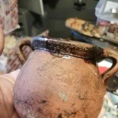 Antigüedades: ORZA MINIATURA BARRO. Lote 272165813