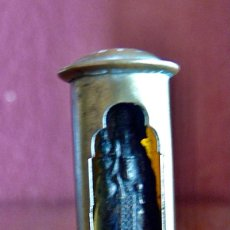 Antiquités: ANTIGUA CAPILLA DE PASTOR, SOLDADO O MARINO DE BRONCE DE BOLSILLO. Lote 272264198