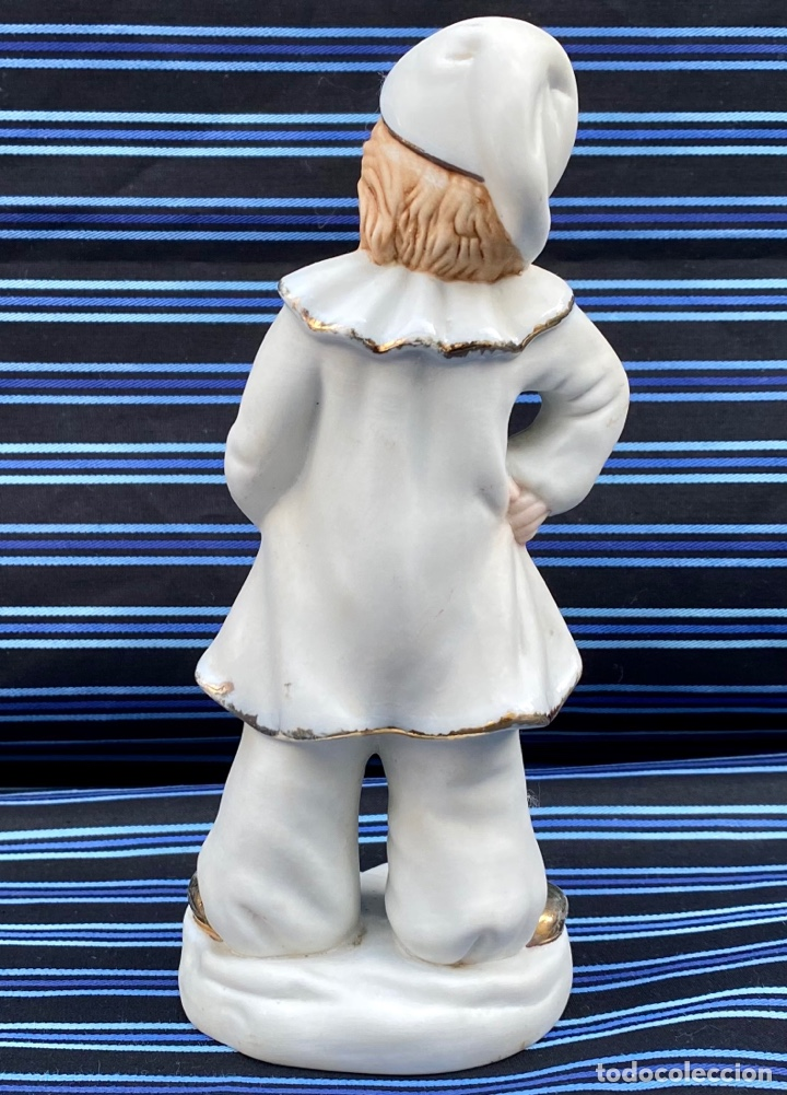 Antigüedades: MEISSEN. Figura Niña Flautista porcelana Biscuit Alemana Meissen - Foto 4 - 272271833