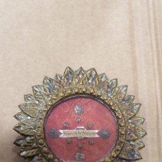 Antigüedades: BONITO RELICARIO VIRGEN DE LA AMARGURA. Lote 272302193