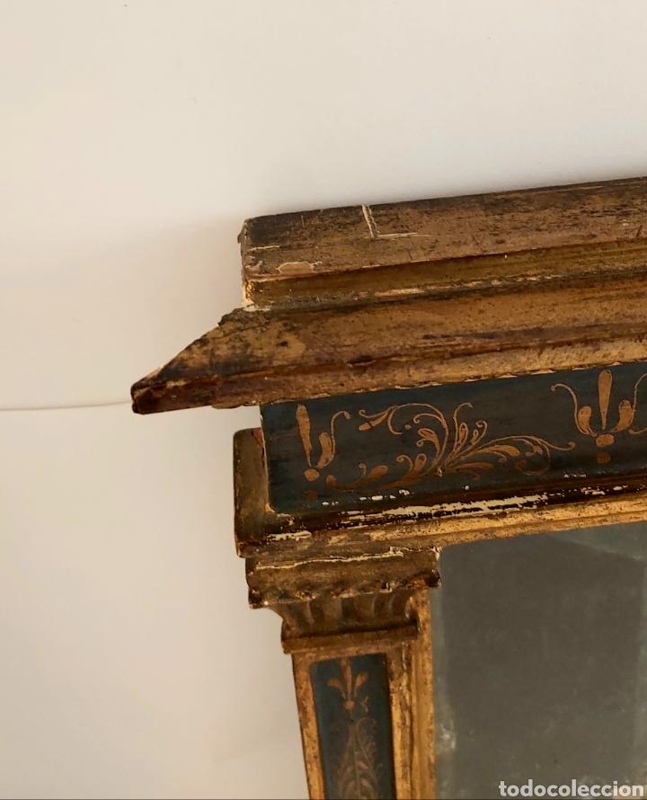 Antigüedades: MARCO TABERNÁCULO S.XIX DE MADERA Y ESTUCO. SANTA CENA - Foto 11 - 272436058