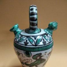 Antiquités: BOTIJO CERAMICA DOMINGO PUNTER. Lote 272437548