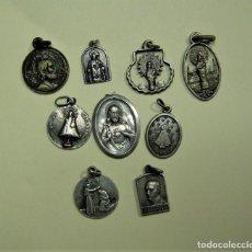 Antigüedades: 9 MEDALLAS ANTIGUAS ALGUNAS DE PLATA. Lote 272439418