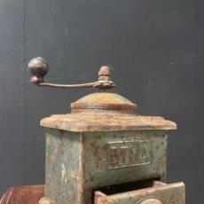 Antiquités: ANTIGUO MOLINO DE CAFÉ DE METAL ETNA. Lote 272551248