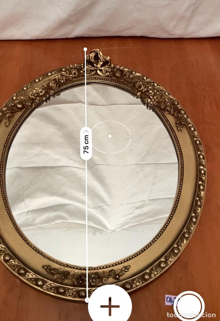 Antigüedades: Espejo antiguo pan de oro - Foto 4 - 272767053