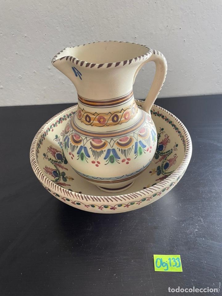 JARRA CERAMICA PUENTE ARZOBISPO (Antigüedades - Porcelanas y Cerámicas - Puente del Arzobispo )