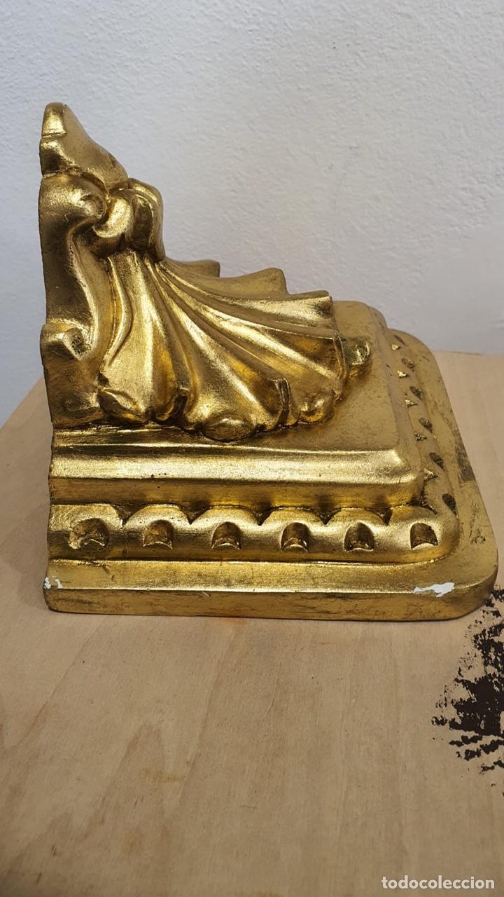 Antigüedades: Bonita mensual de pared dorada - Foto 2 - 272774973