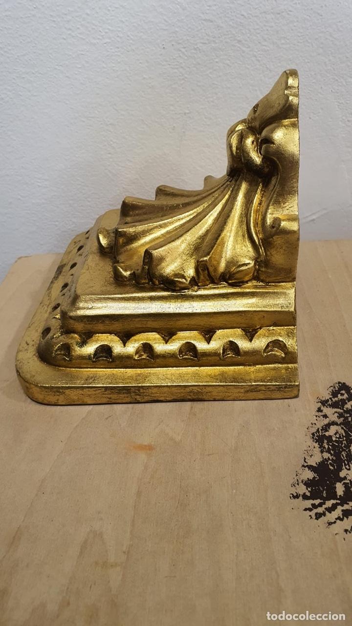 Antigüedades: Bonita mensual de pared dorada - Foto 5 - 272774973