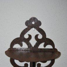 Antigüedades: PRECIOSA MÉNSULA DE HIERRO - BALDA - REPISA - DISPONIBLE LA PAREJA. Lote 272871563