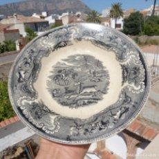 Antigüedades: PLATO LA AMISTAD FABRICA DE CARTAGENA , 22,5 CM. Lote 272946198