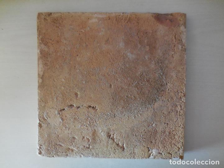Antigüedades: AZULEJO. FÁBRICA DE VALENCIA. PP. SIGLO XIX. 20 X 20 CM. ORIGINAL¡¡¡¡ - Foto 2 - 272970378