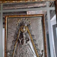 Antigüedades: CUADRO ESPEJO ,VIRGEN DEL ROCIO. Lote 273100983