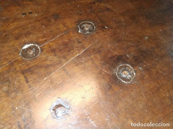 Antigüedades: EXCEPCIONAL BARGUEÑO CASTELLANO. ESTILO VARGAS. NOGAL. HERRAJES ORIGINALES. ESPAÑA. SIGLO XVII - Foto 22 - 273114633