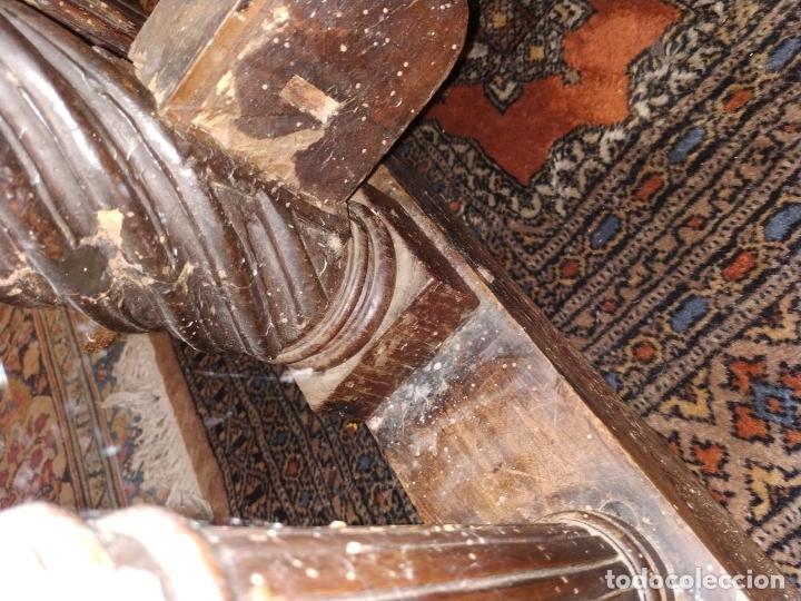 Antigüedades: EXCEPCIONAL BARGUEÑO CASTELLANO. ESTILO VARGAS. NOGAL. HERRAJES ORIGINALES. ESPAÑA. SIGLO XVII - Foto 60 - 273114633