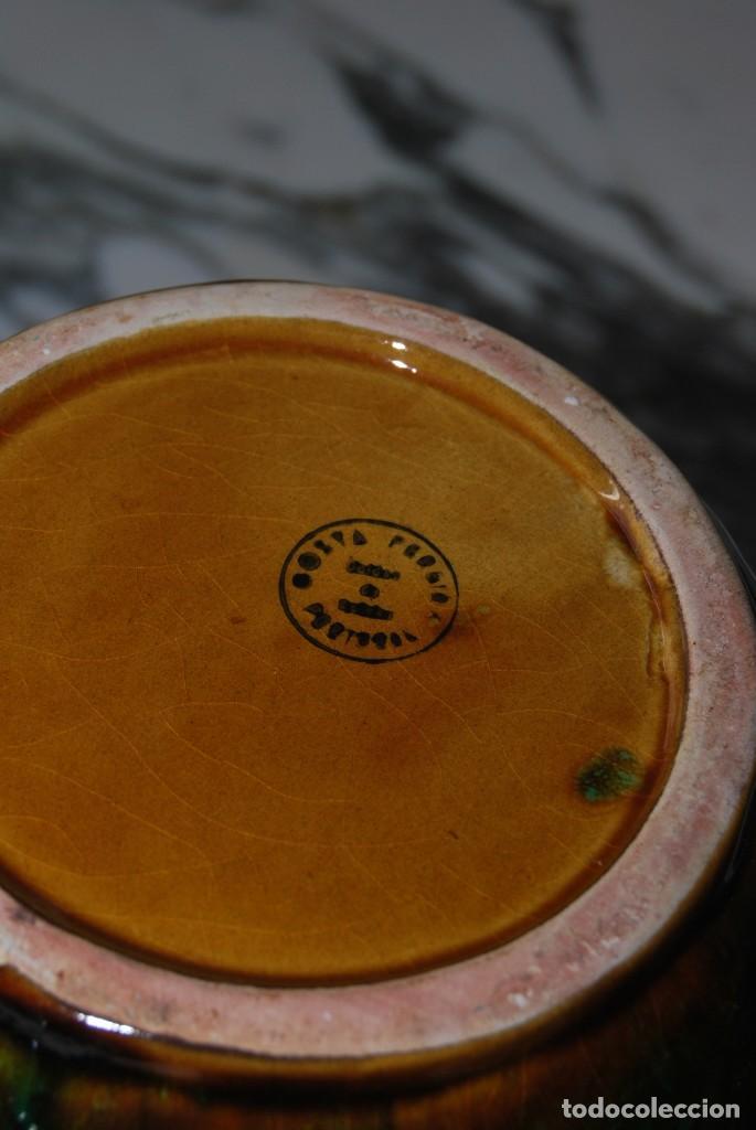 Antigüedades: JARRA DE CERÁMICA PORTUGUESA - COSTA PEREIRA - SELLO EN LA BASE - PORTUGAL - AÑOS 60 - Foto 9 - 273302413