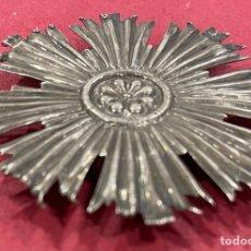Antigüedades: ANTIGUA CORONA EN PLATA DE LEY. S.XIX. Lote 273333503