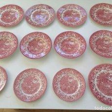 Antigüedades: 17 PLATOS DE PORCELANA EIT ENGLAND. Lote 273435418