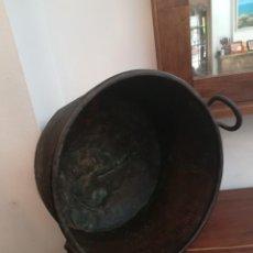 Antiquités: MAGNÍFICA OLLA O CUBA DE COBRE DE PRINCIPIOS DEL SXX. Lote 273623623