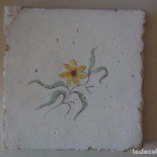 Antigüedades: AZULEJO. FÁBRICA DE VALENCIA. PP. SIGLO XIX. 20,5 X 20,5 CM. ORIGINAL¡¡¡¡. Lote 273640803