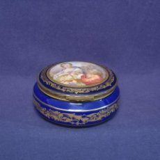 Antigüedades: CAJA EN PORCELANA DE SEVRES. Lote 273671308
