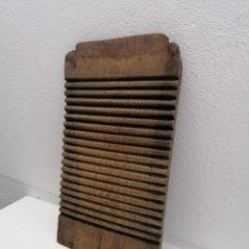 Antiguidades: TABLA DE LAVAR ANTIGUA. Lote 273715928
