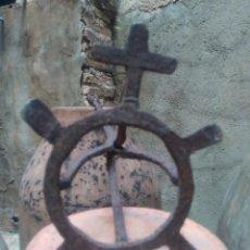 Antigüedades: ESPECTACULAR HIERRO DE MARCAR TOROS DE ANTIQUÍSIMA FORJA - GANADERÍA A IDENTIFICAR ¿ SIERRA MORENA ?. Lote 273725293