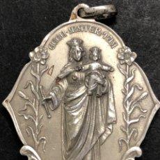 Antigüedades: MEDALLA M AUXILIADORA- SAGRADO CORAZÓN- FIRMADA SJ. Lote 273938488