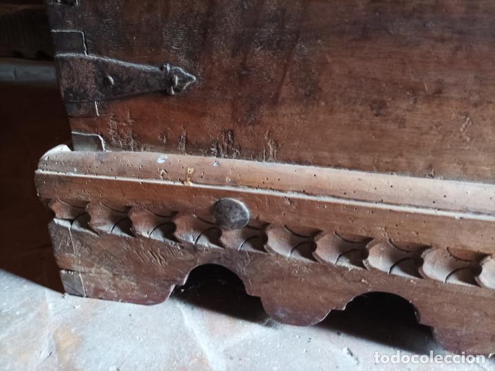 Antigüedades: Arcón del S. XVII - Foto 14 - 273971608