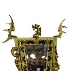 Antigüedades: ESPEJO DRAGÓN MODERNISTA ESTILO DE GABRIEL VIARDOT (1830-1906). Lote 274014988