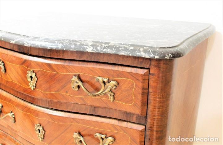 Antigüedades: Mueble antiguo semanier francés - Foto 7 - 274168688