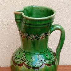 Antigüedades: GRAN JARRA DE CERÁMICA FIRMADA PACO TITO UBEDA. Lote 274195218
