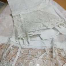 Antigüedades: FUNDAS ALMOHADA. MADRAS. 84CM (RF: 386/B). Lote 274316163
