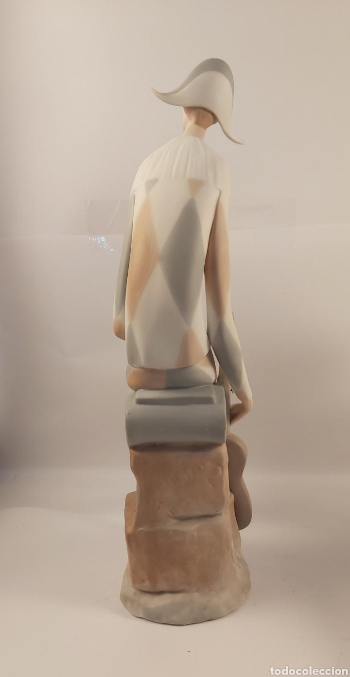 Antigüedades: ARLEQUIN Y SU PAREJA (COLOMBINA) LLADRÓ-TANG (PRIMERA ÉPOCA) - Foto 3 - 270560528