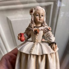 Antigüedades: FIGURA LAS MENINAS GIORDANO DI PONZANO. Lote 274636703