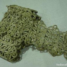 Antiguidades: GALON HILO METALICO DE PLATA. Lote 274638203